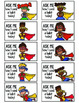 Superhero Themed Positive Reinforcement Cards