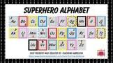 Superhero Themed Print Alphabet