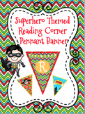 Superhero Themed Read-Reading Corner Pennant Banner
