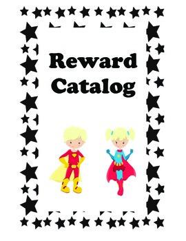 Superhero Themed Reward Catalog