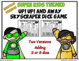 Skyscraper Dice Addition Math Game