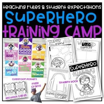 Superhero Training Camp: School Procedures, Back to School