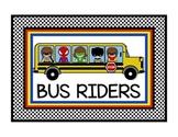 Superhero Theme Transportation Clip Chart in White