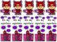 Superhero Valentine bookmark set