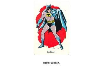 Superhero/Villan Alphabet Book