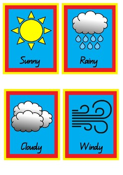 Superhero Weather Chart Pack