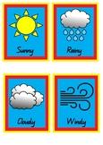 Superhero Weather Chart Pack
