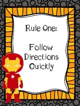 Superhero Whole Brain Rules