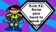 Superhero Whole Brain Teaching Rules (Editable)