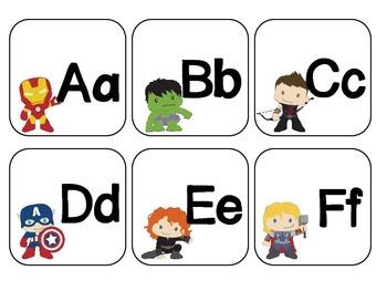Superhero Word Wall