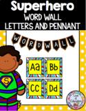 Superhero Word Wall Letters