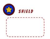 Superhero Word Wall Spelling