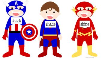 Superhero Word Work