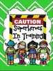 Superhero Working/Privacy Folder Cover-English and Spanish