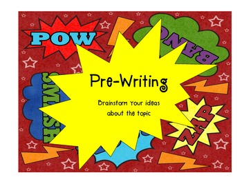 Superhero Writer's Workshop