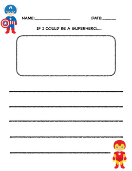 Superhero Writing