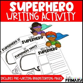 Superhero Writing Activities