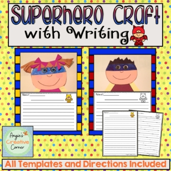 Superhero Writing & Art Project