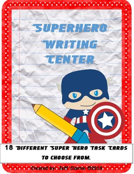 Superhero Writing Center