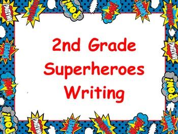 Superhero Writing Flipchart