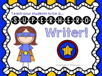 Superhero Writing Kit