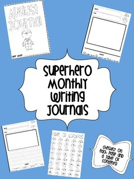 Superhero Writing Notebook