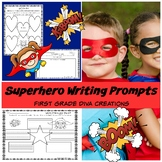 Superhero Writing Prompts | Graphic Organizers