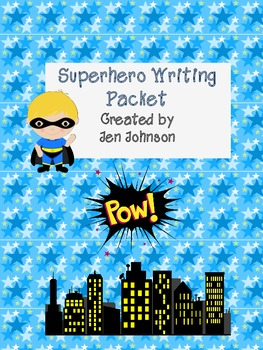Superhero Writing Pack