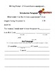 Superhero Writing Packet