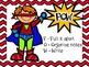Superhero Writing Posters