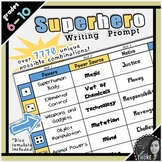 Superhero Writing Prompt