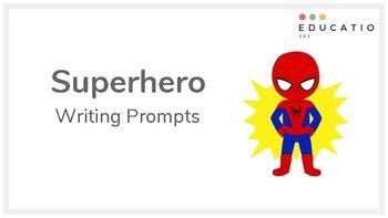Superhero Writing Prompts (NAPLAN Prep)