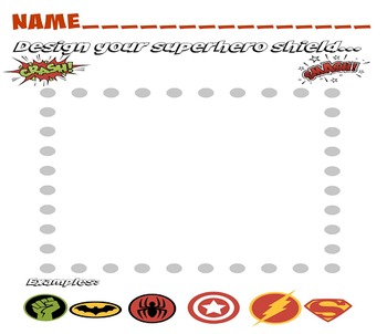 Superhero Writing – Simple Paragraphs and Writing to a Prompt (Includes PPT)