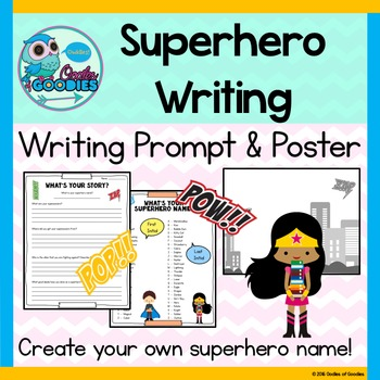 Superhero Writing - What's Your Story?