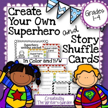 Superhero Writing and Story Cards