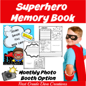 Back to School~Page a Month~Superhero Memory Book~Photo Bo