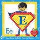 Superhero Clipart Alphabet Clipart, Letters Clip art, AMB-496