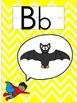 Superhero and Chevron Classroom Alphabet Line