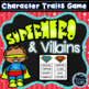 Superhero and Villain - Character Traits Bundle