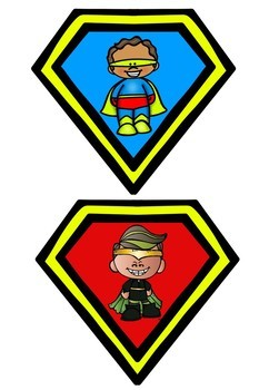 Superhero and Villain Character Traits Game