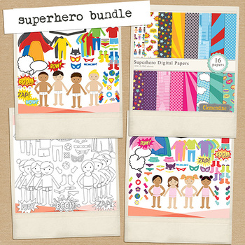 Superhero bundle - build your own superhero
