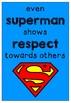 Superhero classroom posters