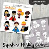 Superhero clip art