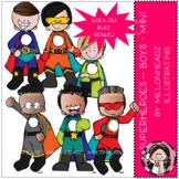 Superhero clip art - Boys - Mini - by Melonheadz