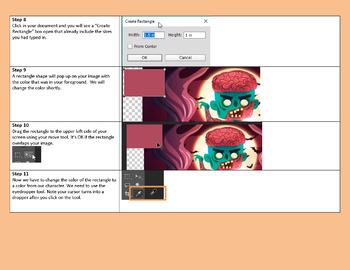 Superhero color palettes with Photoshop CS5 or CS6