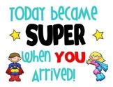 Superhero inspirational poster #2
