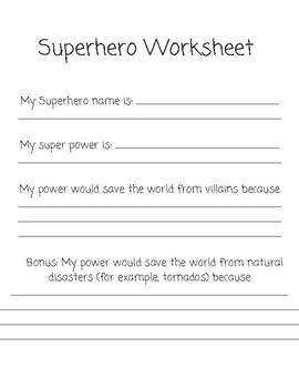 Superhero on Top (3-5)