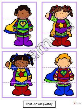 Superhero puzzle