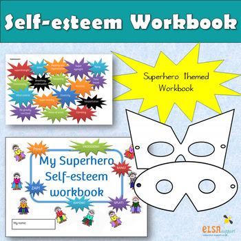 Superhero self-esteem workbook