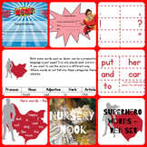 Superhero sight word program - Red set (Set 1 of 5)